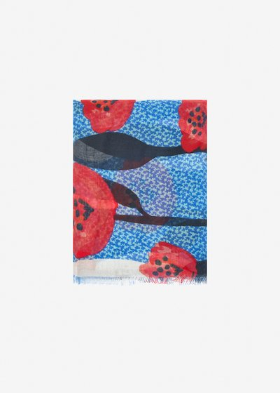 Sindy poppies scarf
