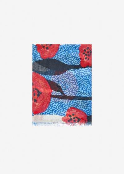 Sindy poppies scarf