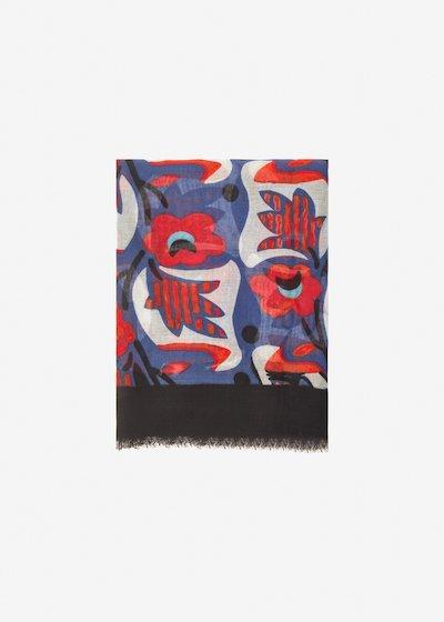 Samis Scarf floral pattern