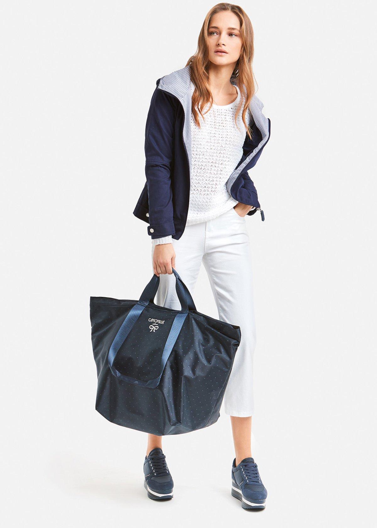 Giulien hooded jacket - Medium Blue