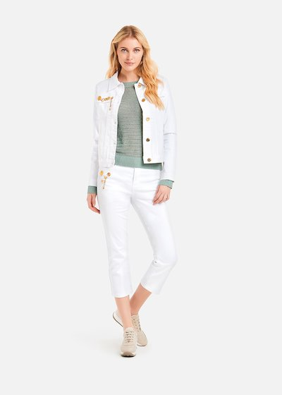 Giudit jacket with light gold rose medals