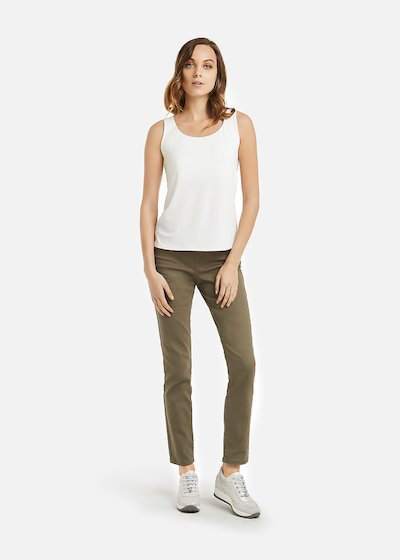 Tobia Top with wide neck