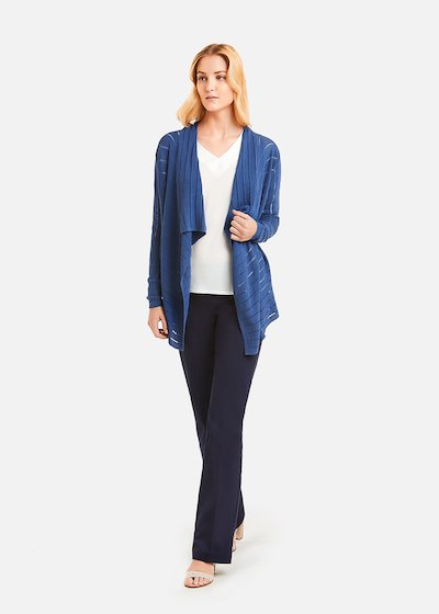 Calien cardigan vertical stripes