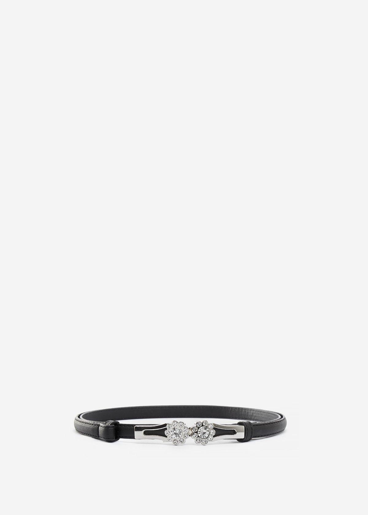 Chiore belt saffiano leather effect - Black