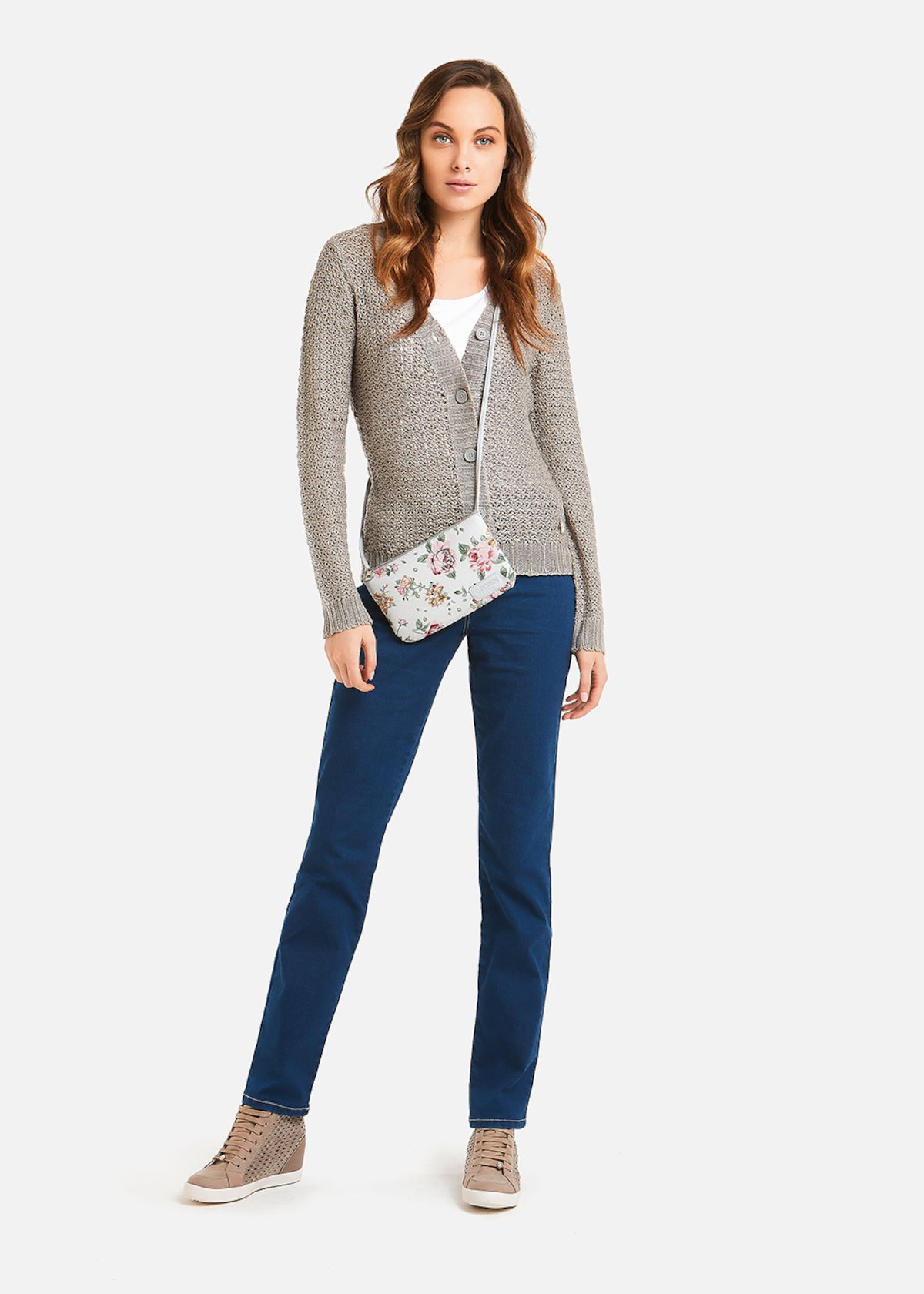 Jeans slim Deryl 5 tasche - Denim
