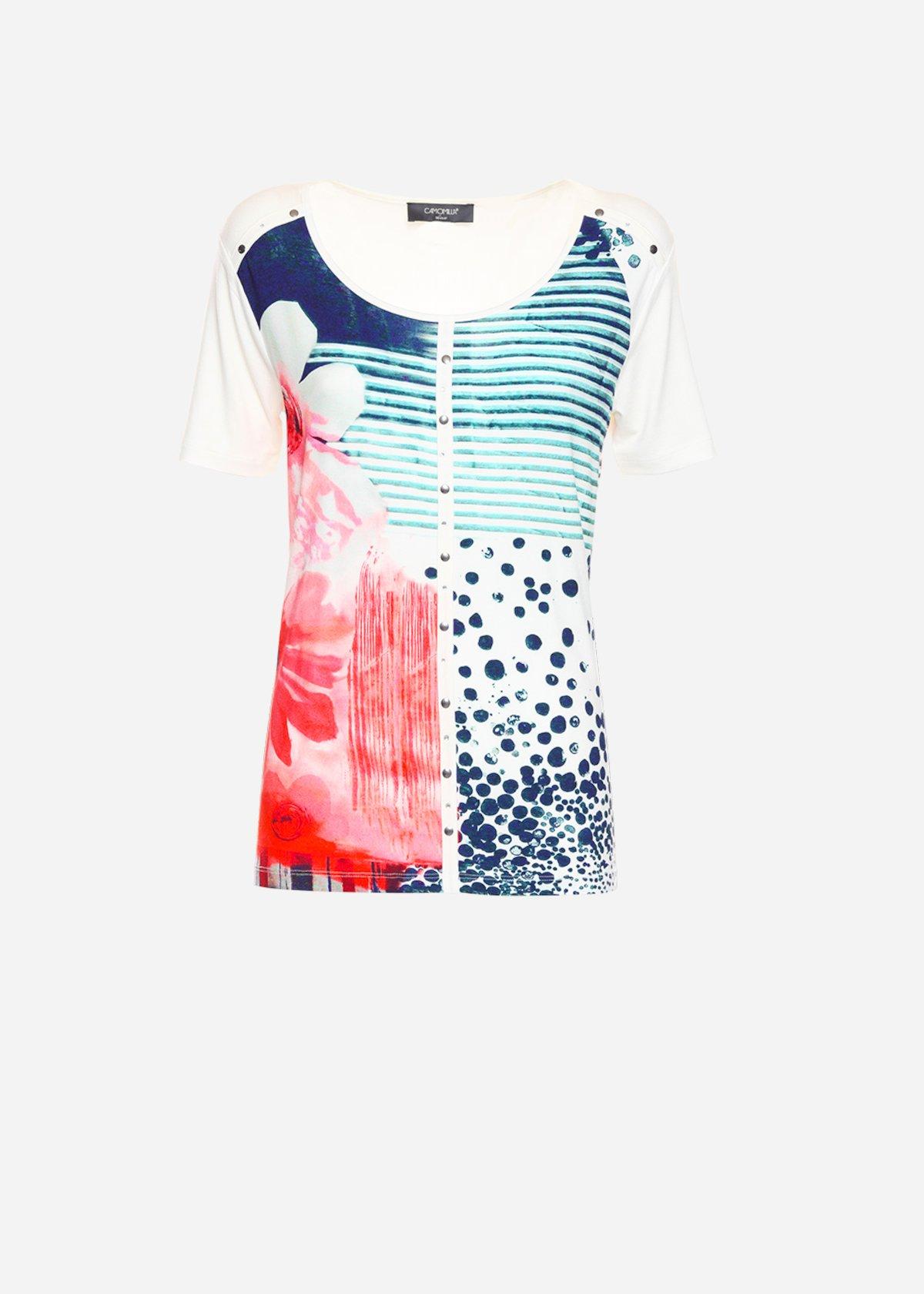 T-shirt Seville con scollo tondo