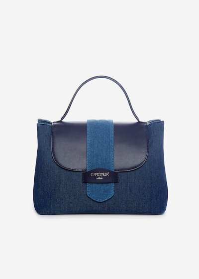 Binnys handbag in faux leather with removable shoulder strap