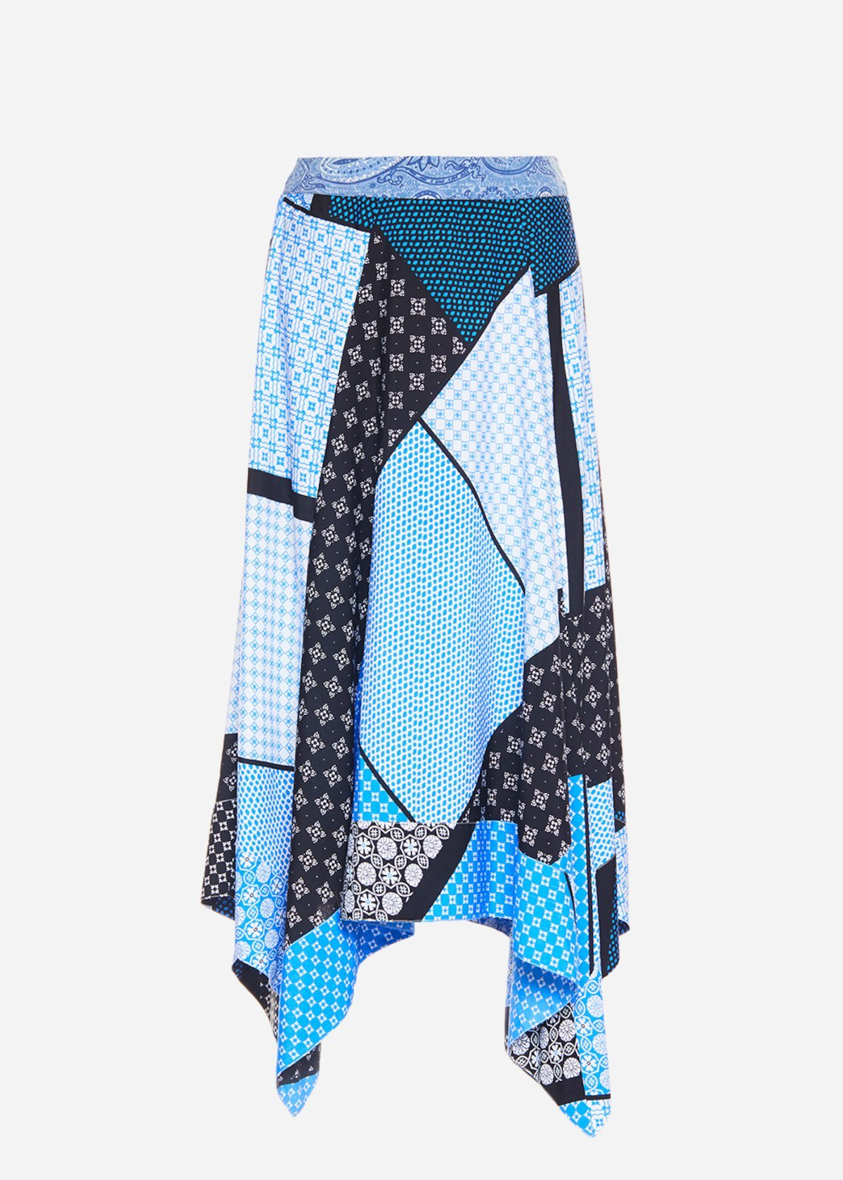 Gianet asymmetric skirt