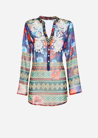 Cody ethno pattern blouse