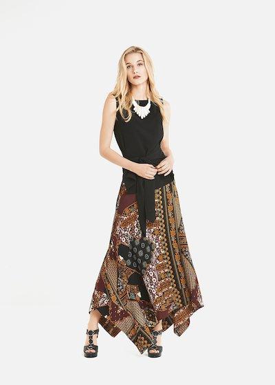 Gretel asymmetric skirt