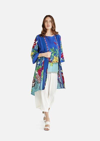 Claryssa jacket with macro-pattern
