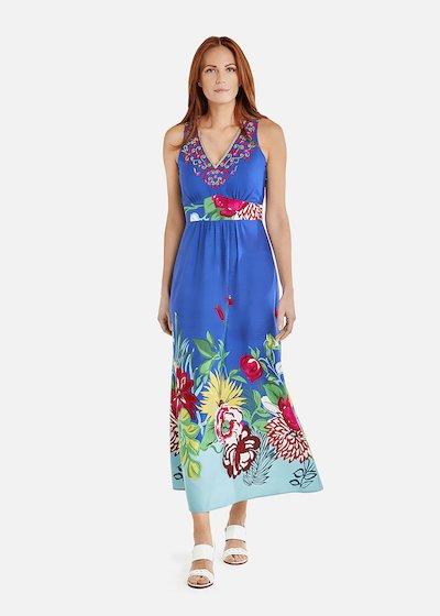 Amor long dress all over print