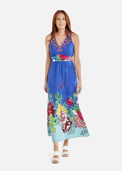 Amor long dress all over print