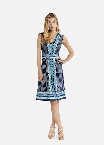Arabel dress with V-neck