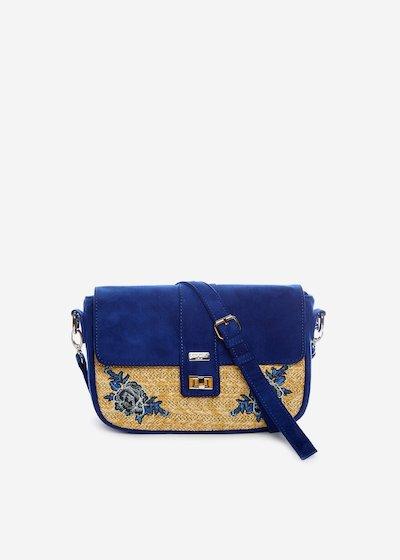 Handbag Belia embroidery detail