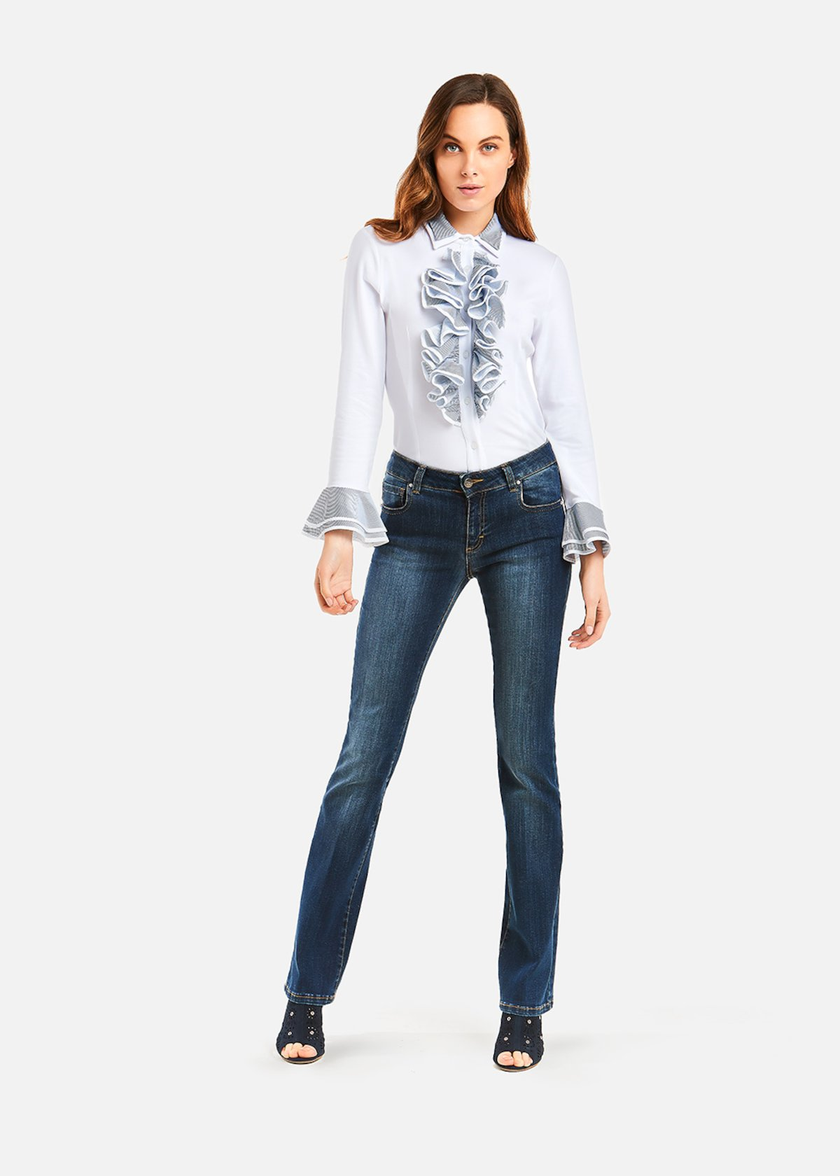 Jeans flared Dylan - Denim