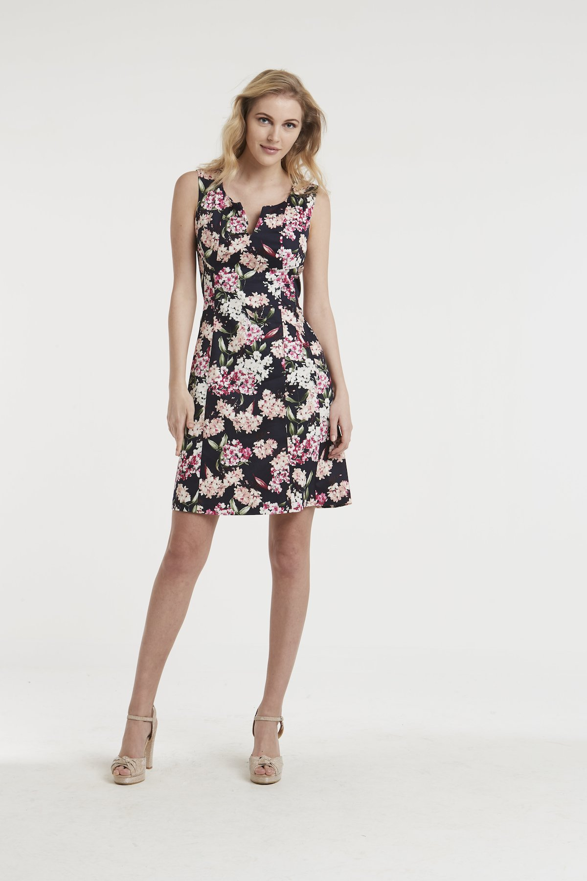Adriano roses fantasy dress