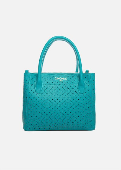 Bruni bag of perforated faux leather