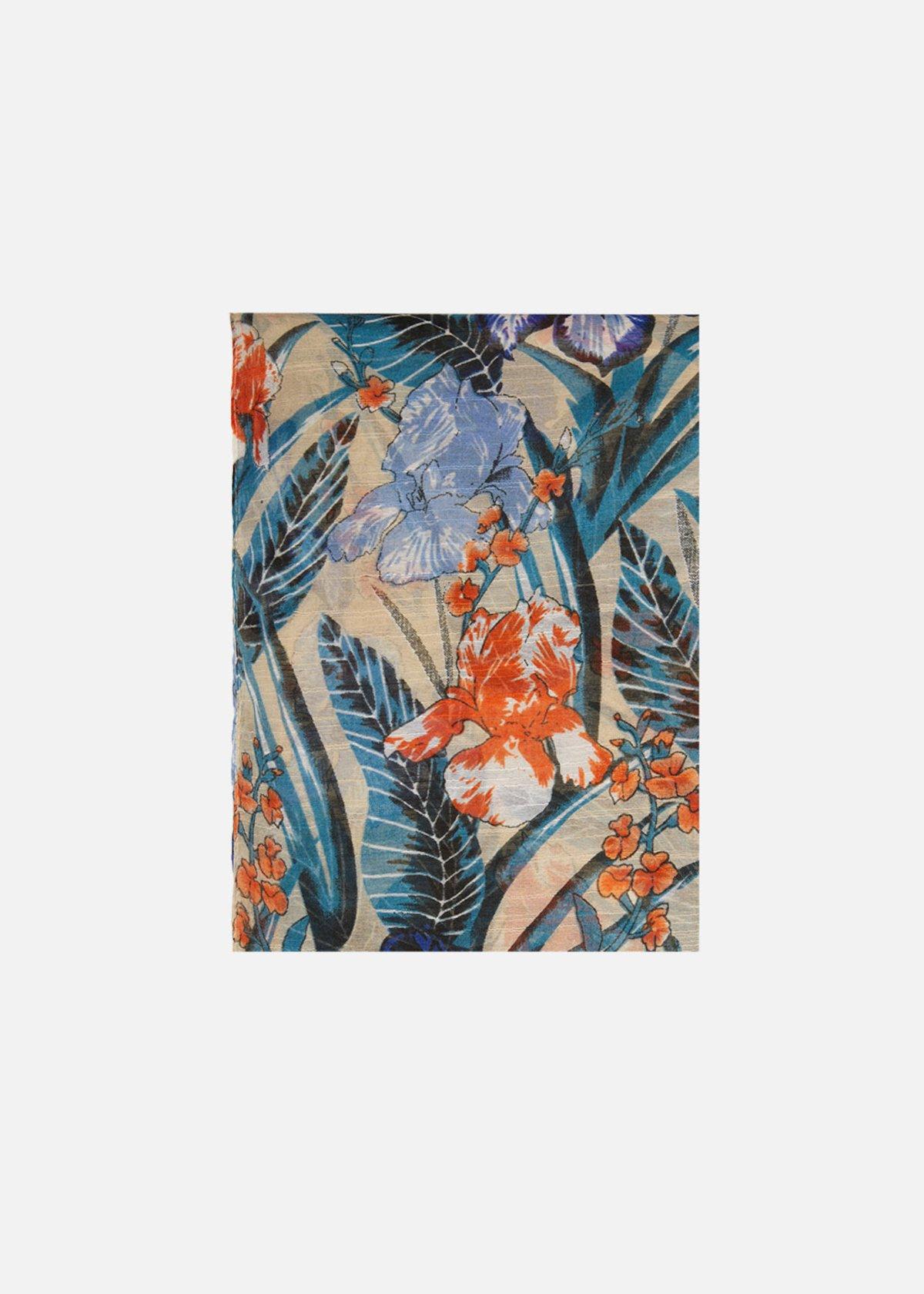 Samelia floral print scarf/sarong