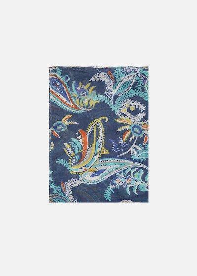 Serena multicolour print scarf/sarong
