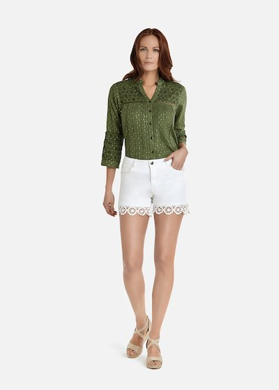 Born shorts with crochet details