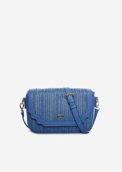 Bonny handbag in faux leather with removable shoulder strap