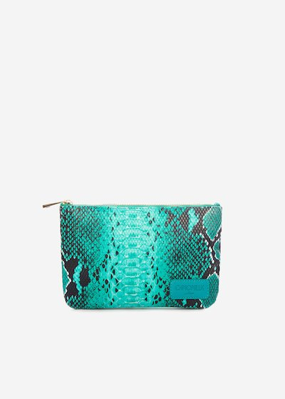 Tonga Python bag with shoulder strap