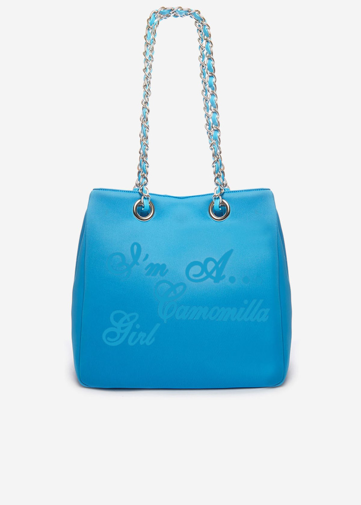Minineopr shopping bag with logo - Aquarius