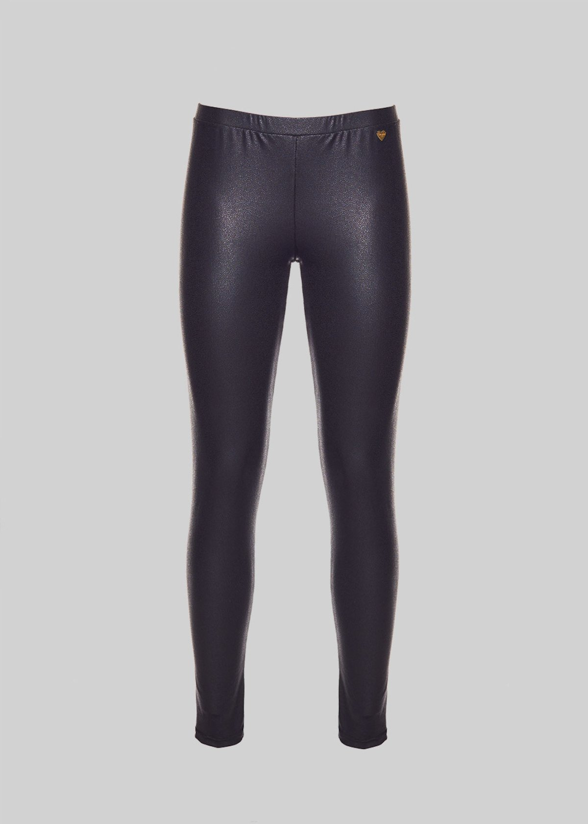 Leggings Larry in crincle fabric - Black