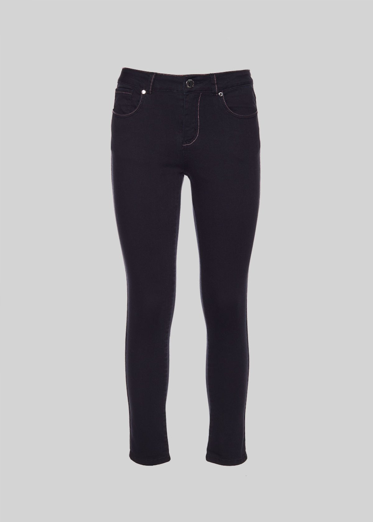 Pantaloni Dolly con gamba slim - Black