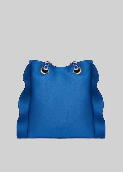 Borsa Microruffle in neoprene co rouches