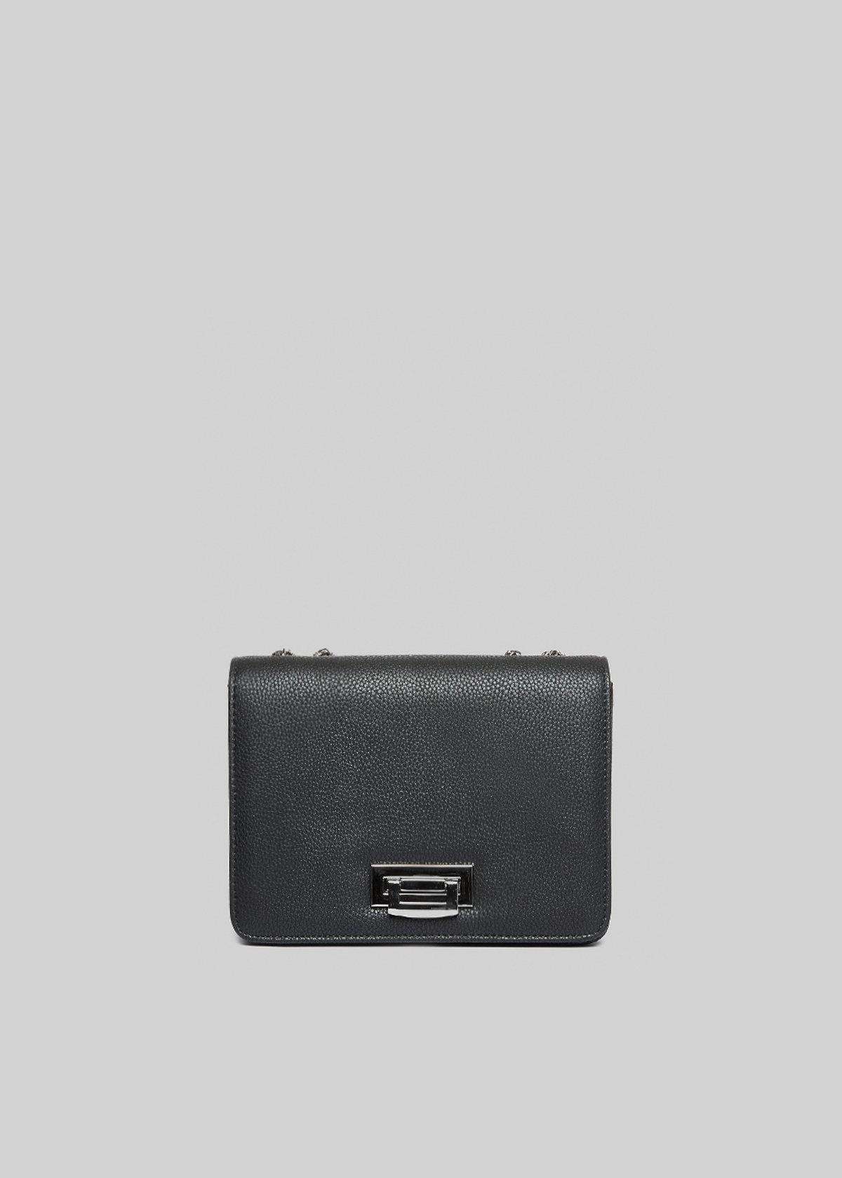 Fede Pyth faux leather Python effect clutch