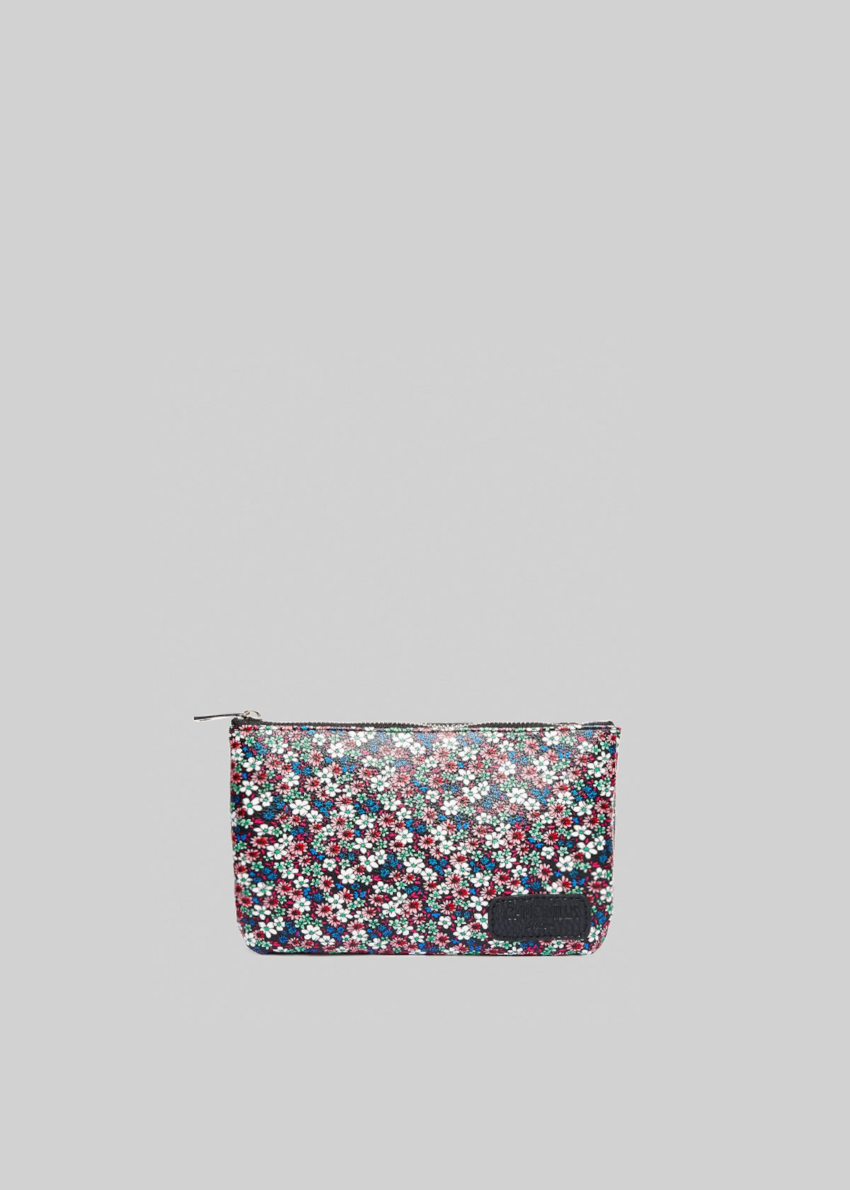 Pochette Tongaflow in ecopelle a tracolla - Black  Fantasia