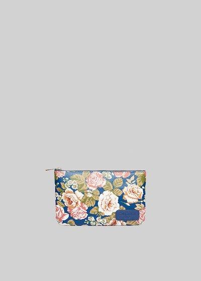 Tongaflow1 clutch shoulder bag with floral print
