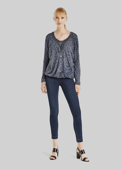 Sister long sleeve T-shirt with sequins