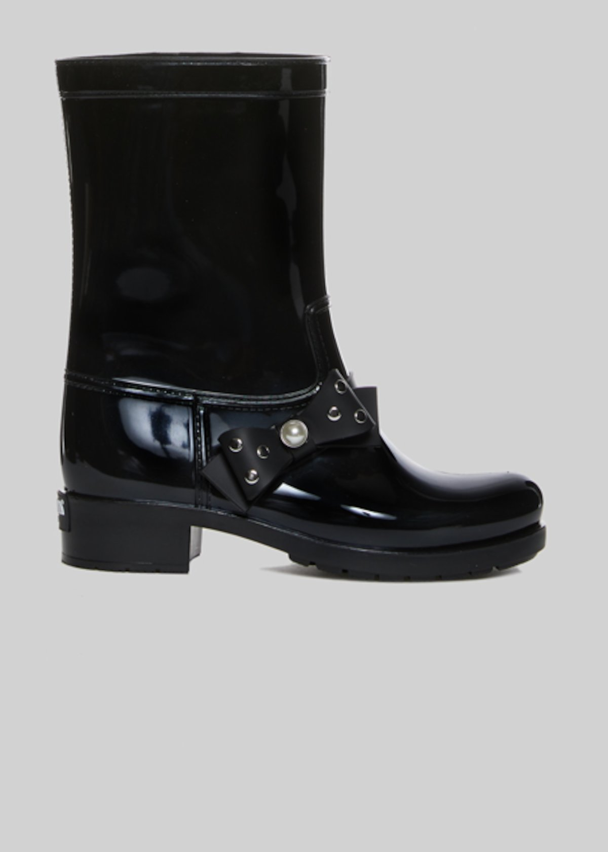 Rain boots Rachelle with  bow detail - Black
