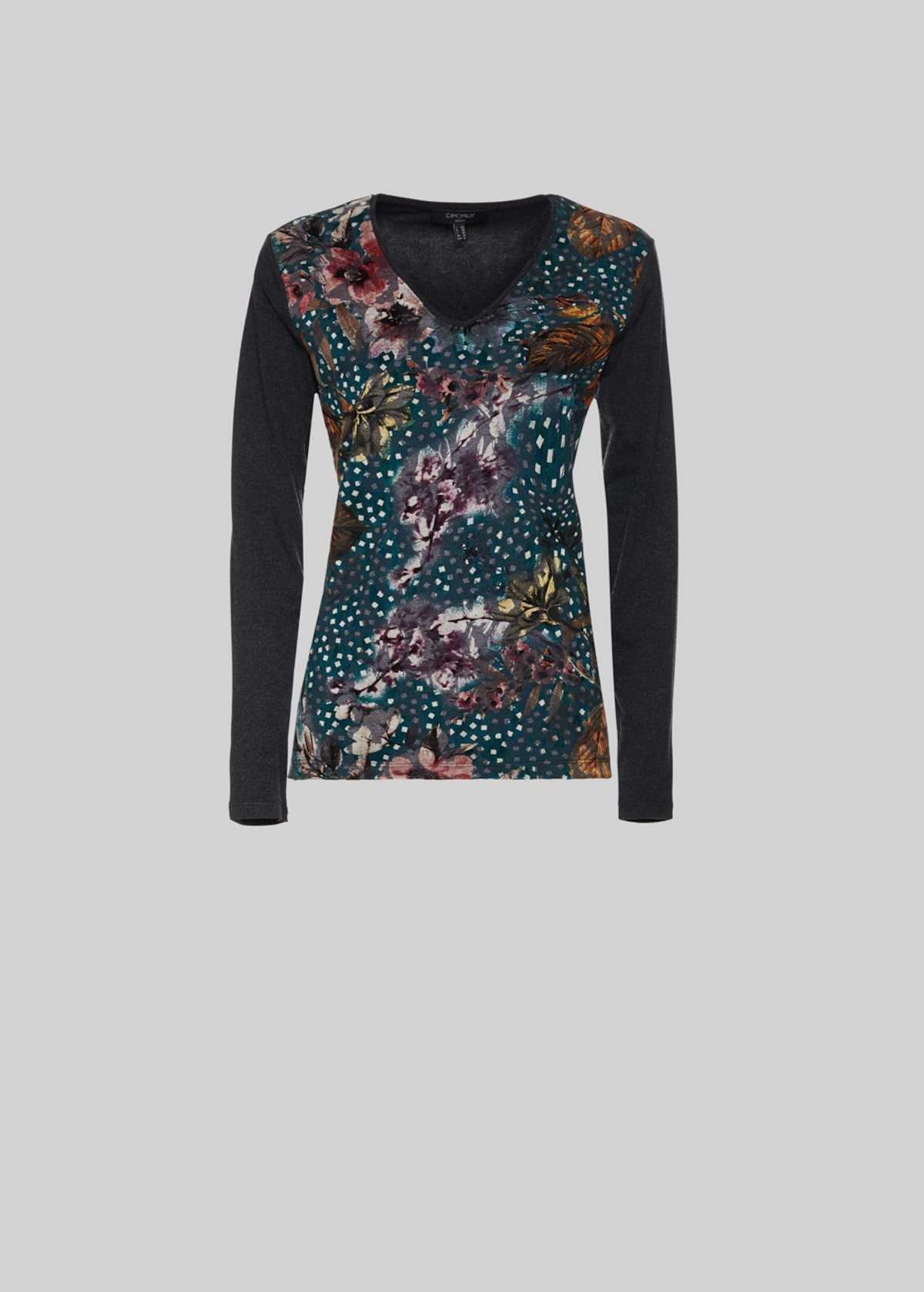 Maglia Maneskin all over print - Dark Grey / Duck Fantasia - Donna - Immagine categoria