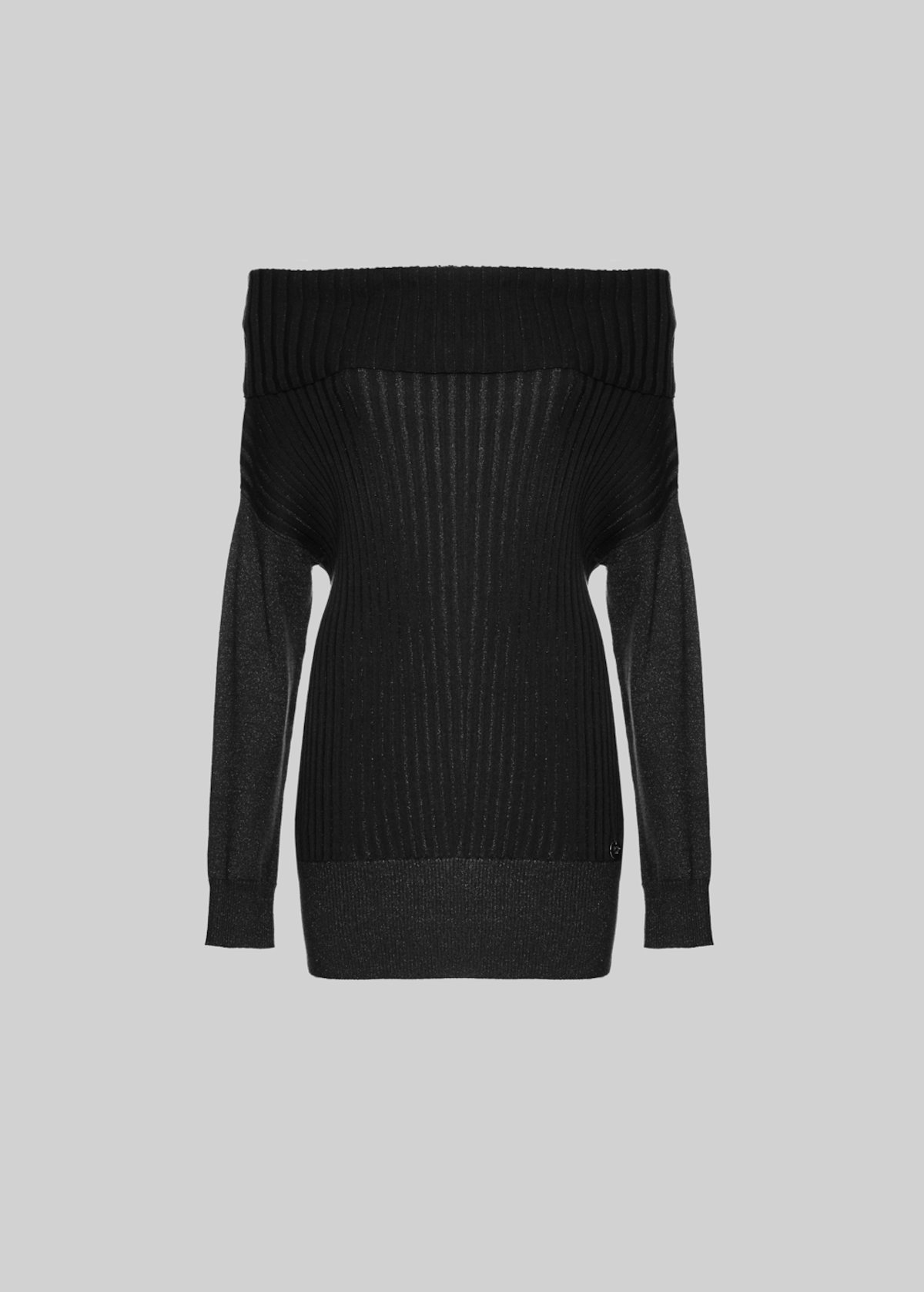 Muriel sweater with Turtleneck - Black