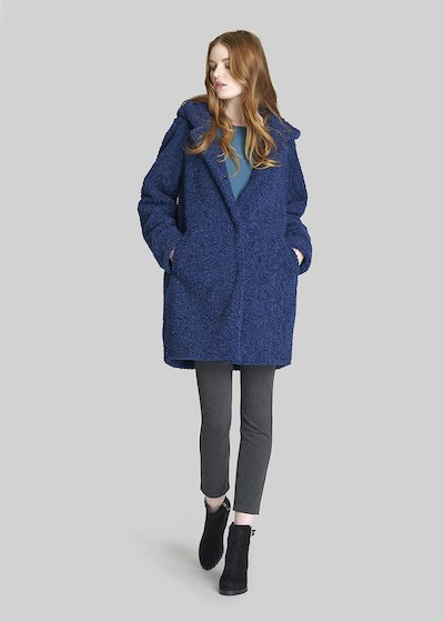 Camilo coat of faux fur with long sleeves