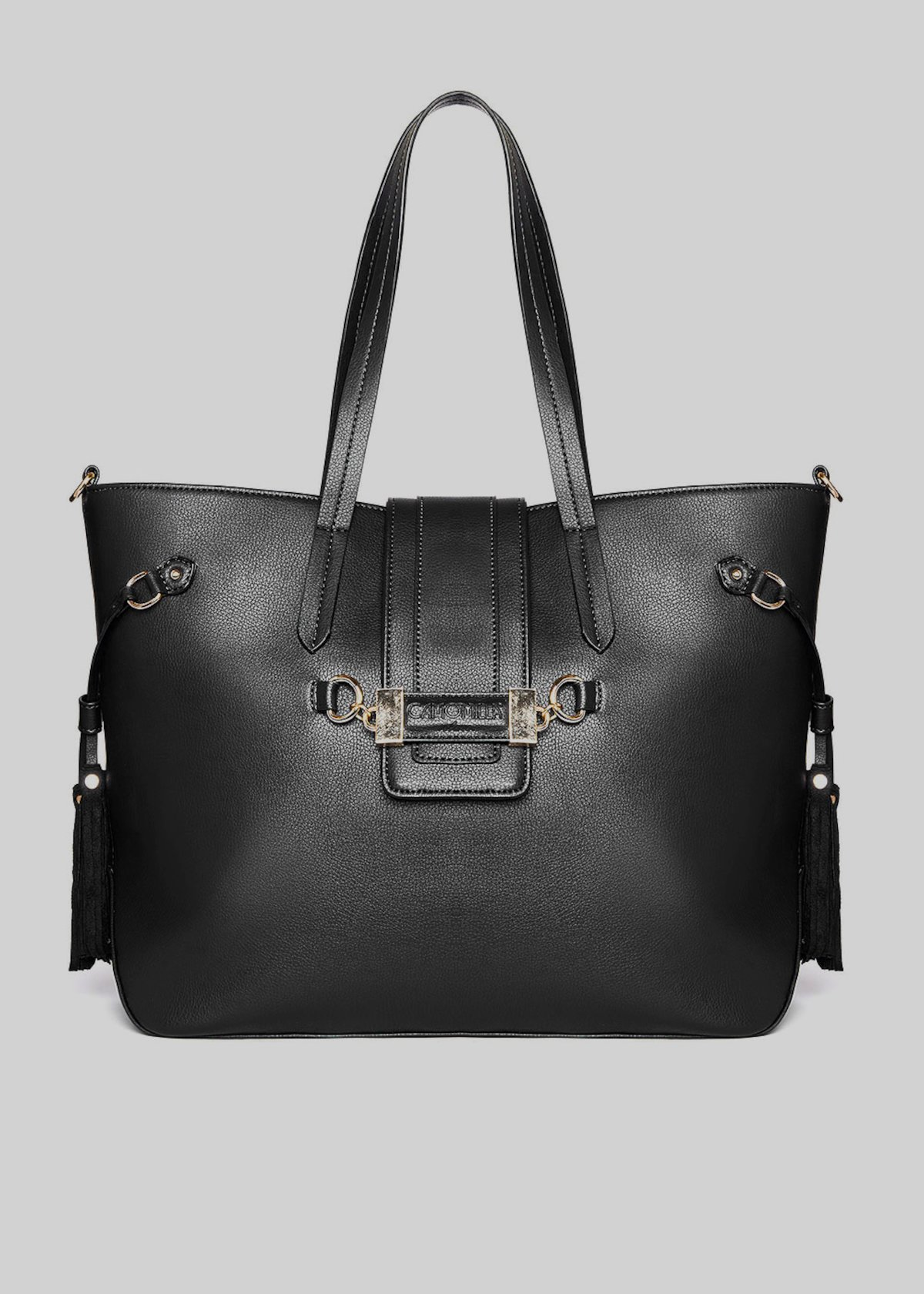 Brady tote bag in faux leather with removable shoulder strap