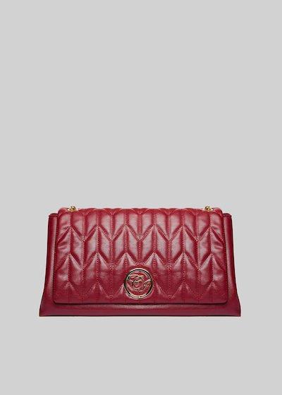 Handbag Belia in ecopelle con tracolla a catena