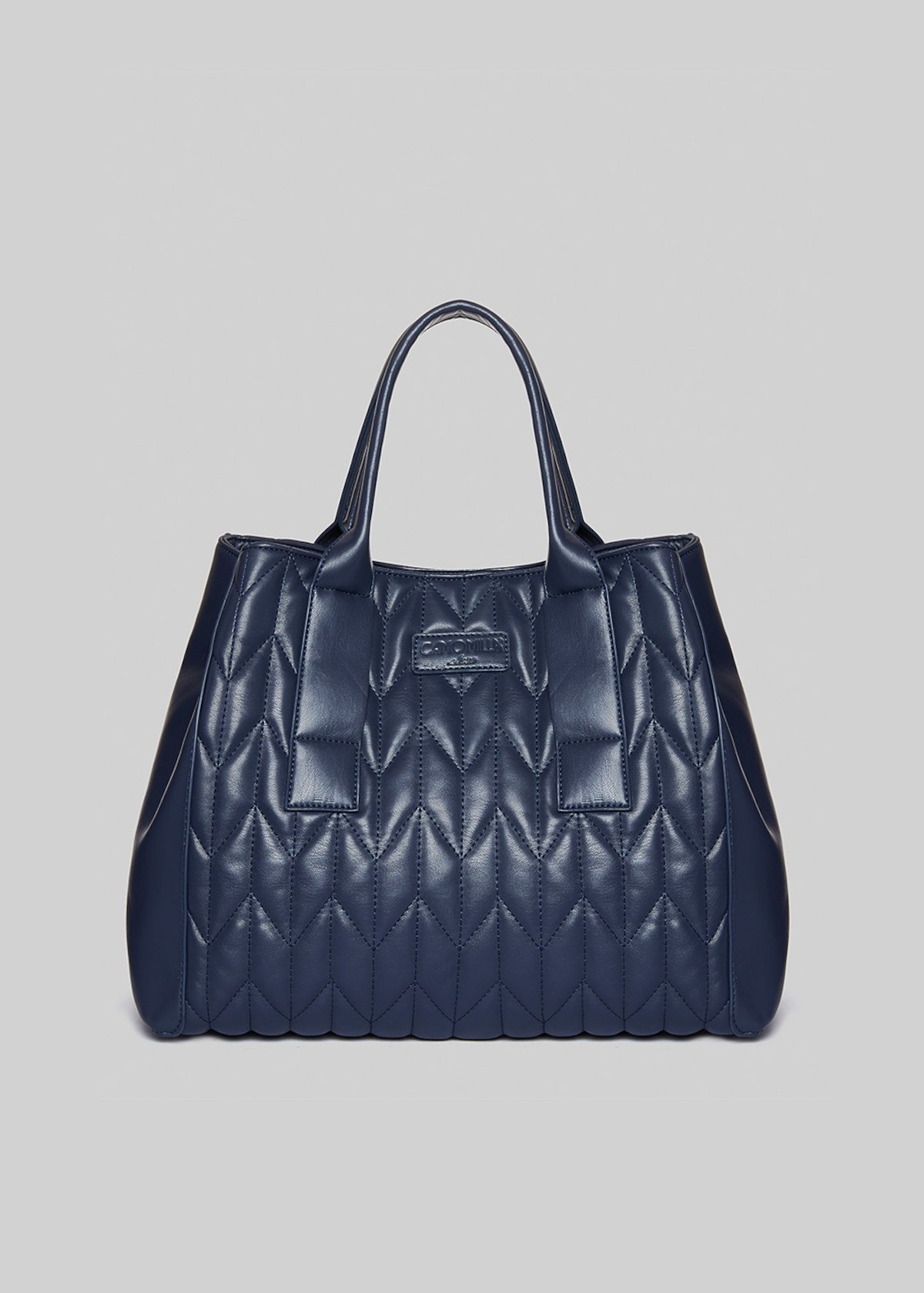 Shopping bag Blanca con beauty interno - Dark Blue