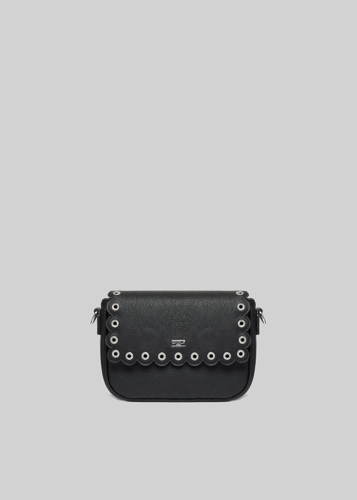 Beki pochette with irregular shoulder strap