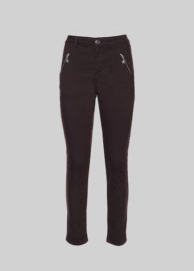 Pantaloni Phil a gamba skinny con ciondolo stella