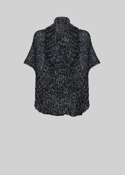 Coprispalle Clea in maglia con dettaglio paillettes