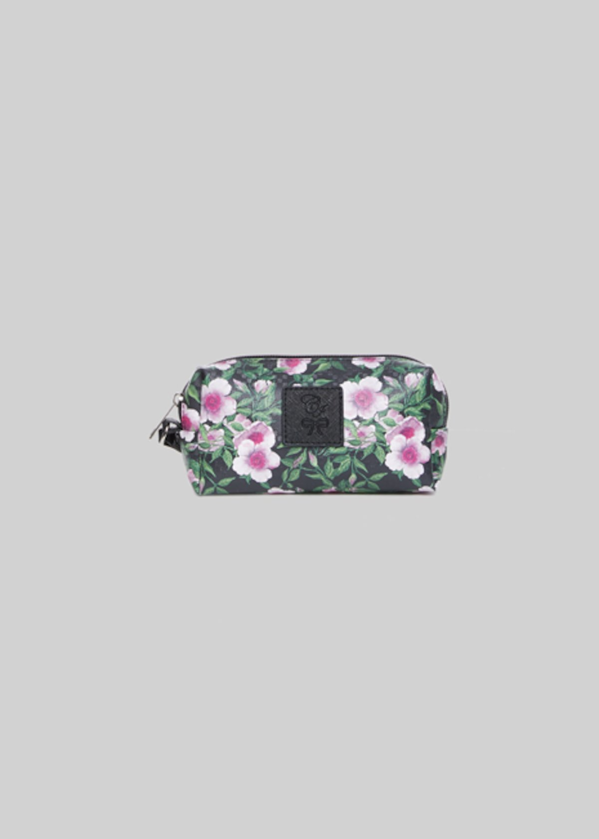 Beauty Briccofl4 in faux leather pink flowers print