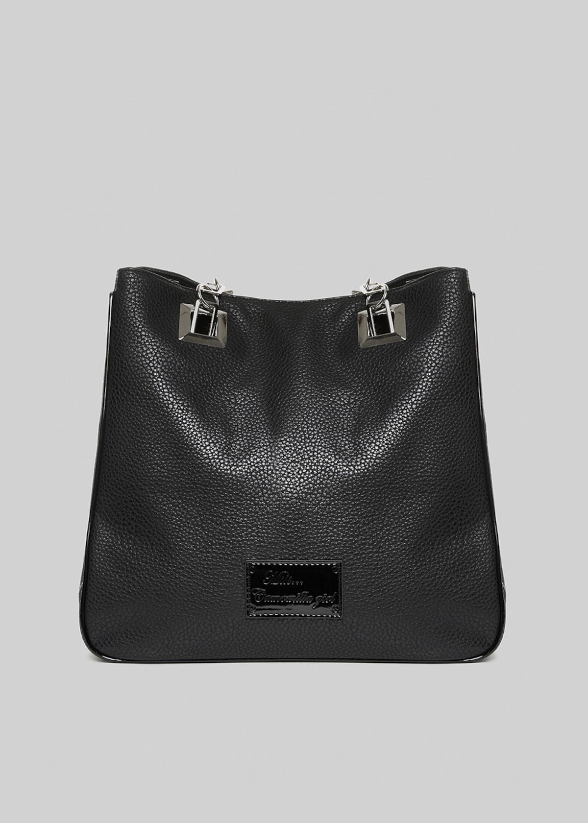 Mmisscerv shopping bag in faux leather print