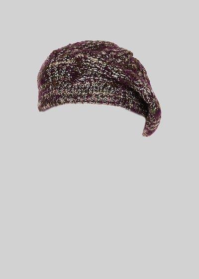 Cappello Carylu in maglia melange