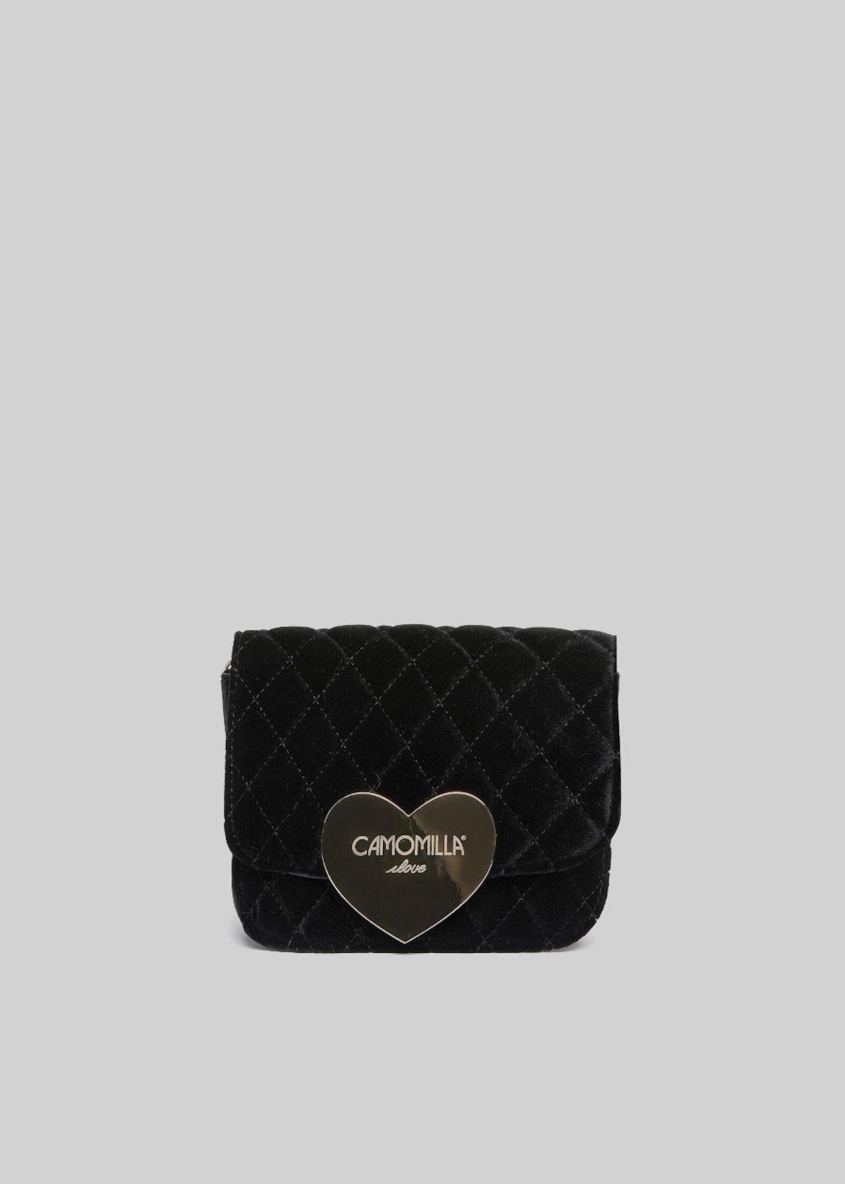 Belvet Clutch bag velvet effect