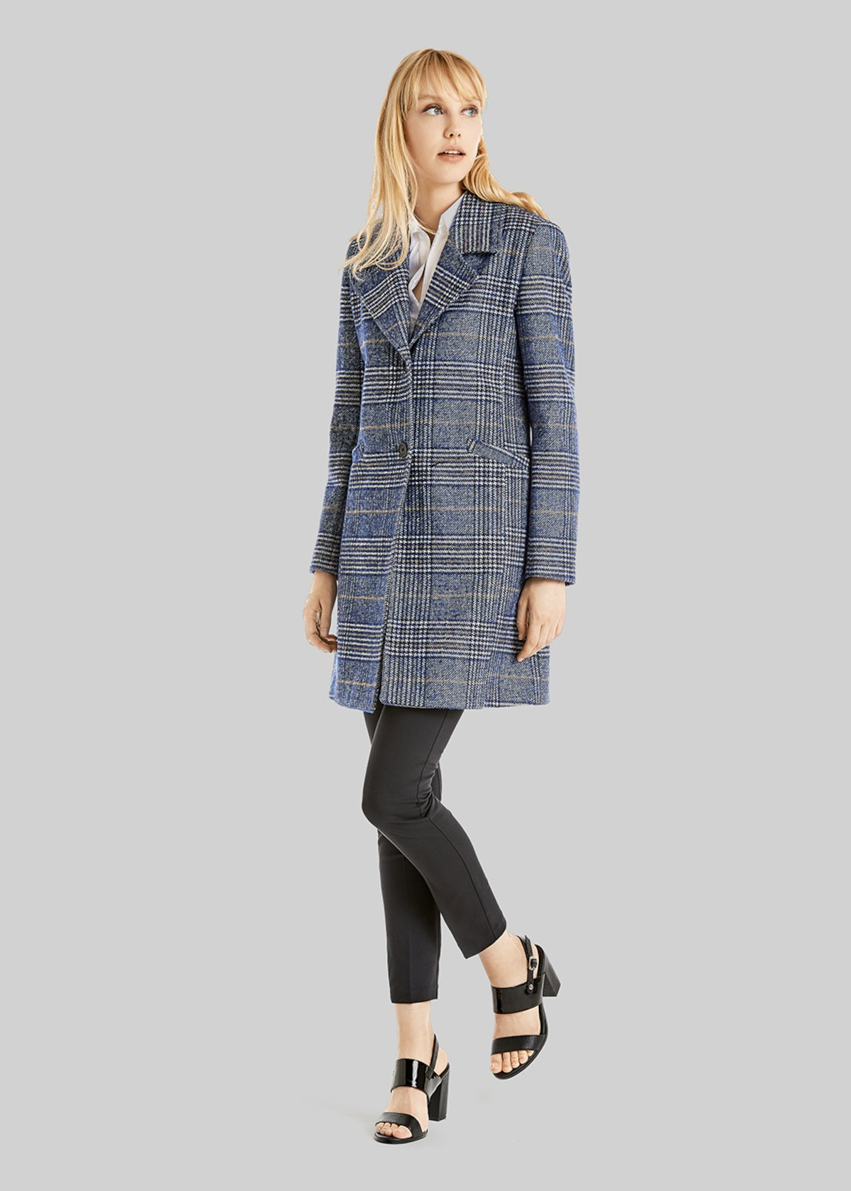 Cappotto Creil a fantasia check
